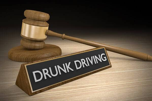 Gavel and drunk driving