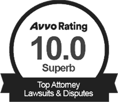 Avvo Superb Rating Badge